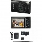 Canon IXUS 180 Compact Camera With 2.7 Inch LCD Screen, 20MP, 10x Zoom